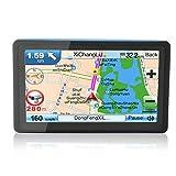 7 pollici Mezzi di GPS di navigazione satellitare NAV 8GB Navigatore con ricevitore GPS sensibile Parasole dell'America Mappa alta per auto camion