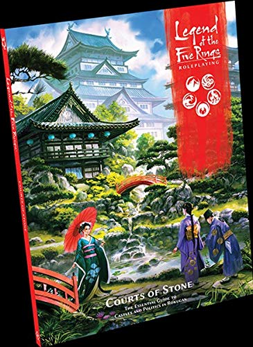Legend of the Five Rings RPG Courts of Stone Castle Court Castle