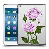 Head Case Designs Pfund Silber Rosen Und Wildblumen Ruckseite Hülle für iPad Air (2013)
