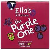 La Cuisine De Ella Le Violet Écrasée Smoothies De Fruits 5 X 90G - Lot De 2
