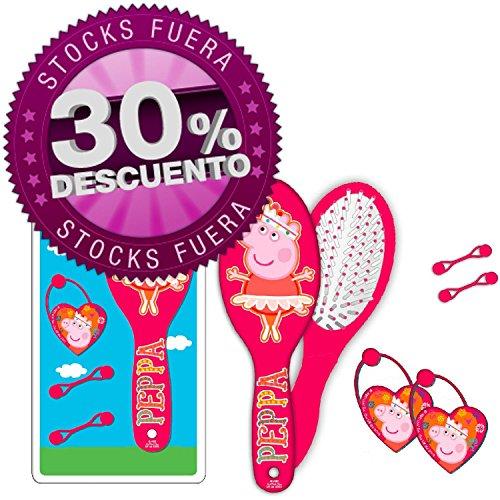 Peppa Pig Set avec brosse et accessoires pour cheveux (Copywritte 942401)