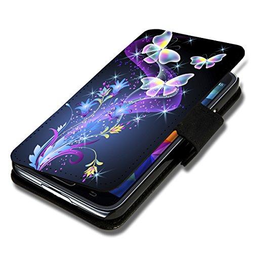 Book Style Flip Handy Tasche Case Schutz Hülle Schale Motiv Etui für Samsung Galaxy S5 Neo - Flip X9 Design8