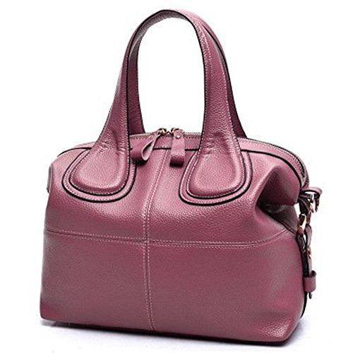 Meoaeo Neuen Handtasche Handtasche Schultertasche Dame Mutter, Rosa Pink