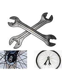 Bazaar Clé à cône de moyeu d'essieu bicyclette tête de clé extrémité ouverte outil de réparation 13/14 15/16 mm