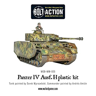 Bolt Action - Panzer IV Ausf.F1 / G / H - WGB.WM.505 -. Warlord Jeux