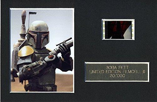 Star Wars BOBBA FETT Limited Edition Film Cell m