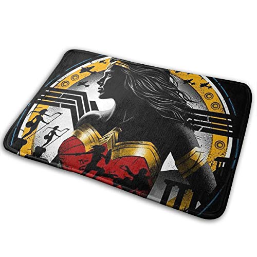 DarliH Welcome Fußmatte Wonder Woman Rug 15.7