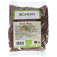 Bionsan Arroz Rojo de Cultivo Ecológico - 6 Paquetes de 500 gr - Total: 3000 gr