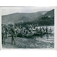 Vintage Foto Di Truppe del settimo U.S.