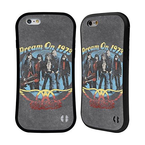 Ufficiale Aerosmith Porpora Arte Da Poster 2 Case Ibrida per Apple iPhone 5 / 5s / SE Dream On