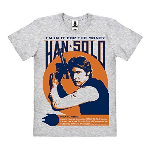 Logoshirt Star Wars - Han Solo - I'm -