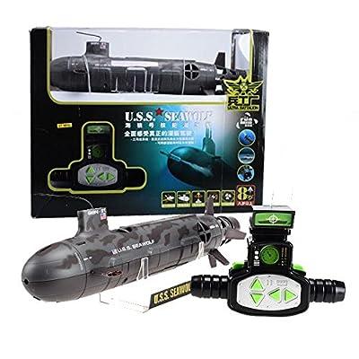 USS Seawolf untertauchbare Boot Funkfernsteuerung RC Boot Schiff Radio Steuerung von Toystok