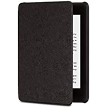 Amazon Kindle Paperwhite Leather Cover (10th Generation - 2018 Release), Black