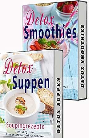 detox box smoothies zum abnehmen souping detox suppen detox smooties 2 in 1 set matcha. Black Bedroom Furniture Sets. Home Design Ideas