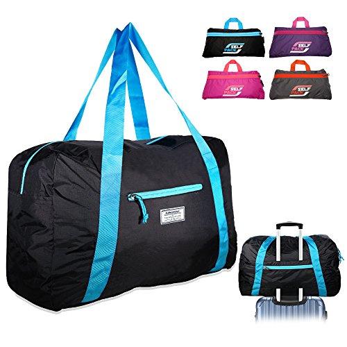 Mangrove Sporttasche Ultraleicht Reisetasche Fitness Tasche Matchbag 53cm 46L Medium in Kompaktgröße für Umkleidespinde Schwarz