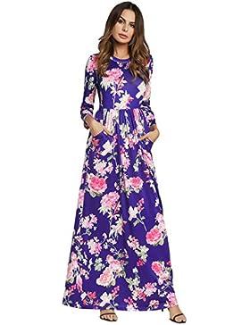 Moda Vestido | Vestido para mujer Las mujeres en Europa y América ocho ciento funda de cintura alta flor vestido...