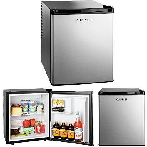 Minikühlschrank 38 Liter | Minibar | thermoelektrischer Kühlschrank ohne Kältemittel | platzsparend mit flacher Rückwand | sehr leise | nur 70Watt | ideal für Büro & Camping (Kühlschrank Thermoelektrischer)