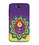 Printfidaa Holy Lamp Design Huawei Honor Holly 2 Plus Back Cover