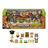Mattel Minecraft Village Biome Figures Pack