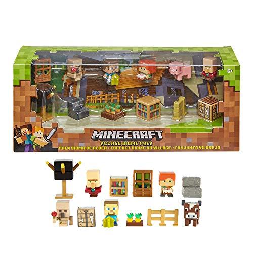 Mattel Minecraft Village Biome Figures Pack
