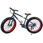"Ridgeyard fat bike 26"" 7 velocità Cruiser Bicycle Mountainbike spiaggia passaggio viaggiare sport"
