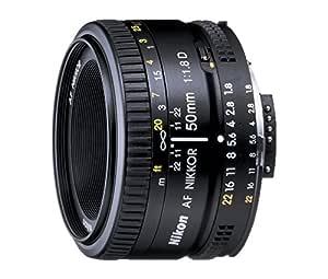 Nikon 50mm Nikkor F/1.8D AF Prime Lens for DSLR Camera