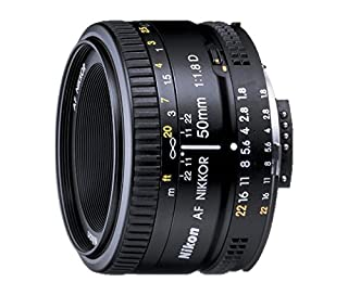 Nikon AF Nikkor 50mm - Objetivo para Nikon (distancia focal fija 50 mm, apertura f/1.8, diámetro: 63 mm) Negro (B00005LEN4) | Amazon price tracker / tracking, Amazon price history charts, Amazon price watches, Amazon price drop alerts