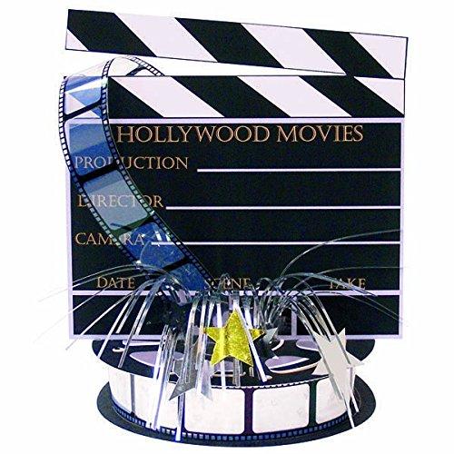 (Amscan International Folie Spray Mittelpunkt Directors Board Hollywood)