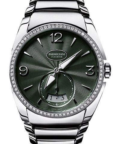 Parmigiani Women's Tonda Metropolitaine 33.1mm Steel Bracelet & Case Automatic Watch PFC273-0065600-B00002
