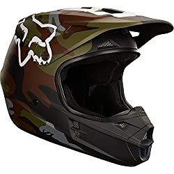Fox–V1casco, diseño de camuflaje, color verde, camuflaje, L