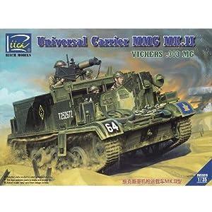RIICH MODELS rv35016-Maqueta de Universal Carrier MMG MK.II (.303Vickers MMG Carrier),