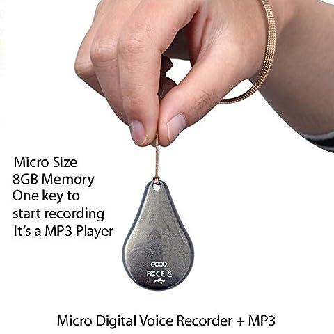 Enregistreur Audio Numerique - eoqo® dans le monde entier Première samllest