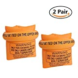 #9: Swim Arm Bands Rings for Kids and Adult Inflatable Floatation Sleeves Armbands for Swimming Beginner Trainers - 2 Pair