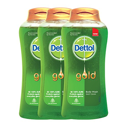 Dettol Daily Clean Body Wash (250ML, Pack of 3)