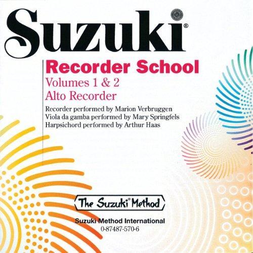 Suzuki Recorder School: Volumes 1 & 2 Alto Recorder (The Suzuki Method)