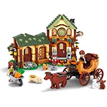 Ingenious Toys® medieval old farmhouse / compatible build block