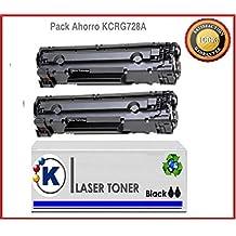 PACK AHORRO 2XTONER RECICLADO CANON 728, tóner compatible Canon Toner CANON EP-728 , MF4410 , MF4450 , MF4550 , MF4570 , MF4580 , i-sensys L150 , L170 ,2.100p.. Remanufacturado en España, envio desde Madrid