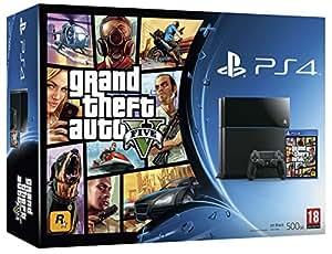 PlayStation 4: Console 500GB B Chassis + GTA V [Bundle]