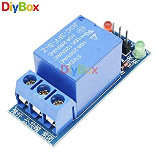 Sellify Electrical Equipments 5Pcs 5V 1Ch Low Level Trigger Relay Module One 1 Channel Relay Shield Board Dc Ac 220V for Arduino Pic Avr Dsp Arm Mcu