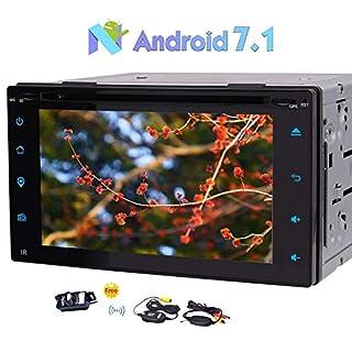 EINCAR Kostenlose W-Backup-Kamera inklusive Android 7.1 Auto-Stereo Universal-2 L?rm im Schlag-Auto-DVD-Spieler 6.2