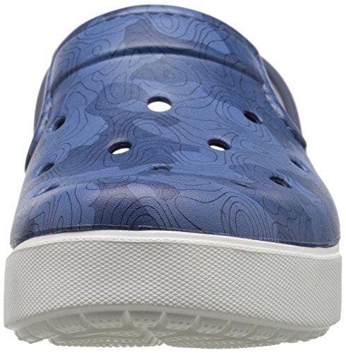 Crocs Citilane Topographiques Mule Bijou Blue/White