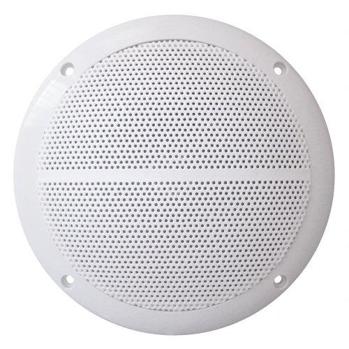 Kenford - Due altoparlanti integrati da 50 watt, 8 Ohm, colore: bianco