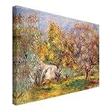 Bilderwelten Cuadro en lienzo - Auguste Renoir - Olive Garden - Apaisado 2:3, cuadros cuadro lienzo cuadro sobre lienzo cuadro moderno cuadro decoracion, Tamaño: 60 x 90cm