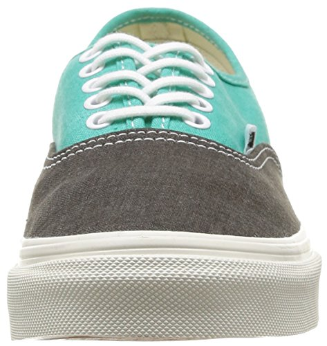 Vans U Authentic Slim Vxg6Fq5, Baskets mode mixte adulte Multicolore (Pool Green)