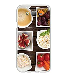 YuBingo Samsung Galaxy E7 (2015) :: Samsung Galaxy E7 Duos :: Samsung Galaxy E7 E7000 E7009 E700F E700F/Ds E700H E700H/Dd E700H/Ds E700M E700M/Ds 2D Designer Phone Back Case Cover ( Diet Food )