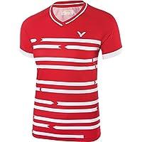 VICTOR T-Shirt Denmark femelle Rouge 6618