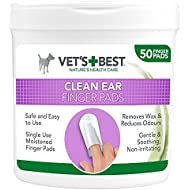 Vet's Best Ear Cleaning Pads for Dogs, Pack of 50