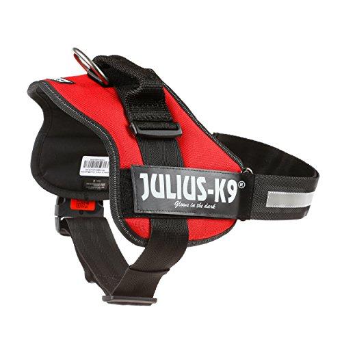 JULIUS-K9, 162R1, K9-Powergeschirr, Größe: 1, rot - 3