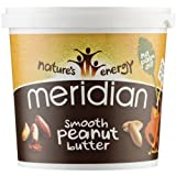 Meridian Smooth Peanut Butter with a Pinch of Sea Salt 1000 Grams (Pack of 2)