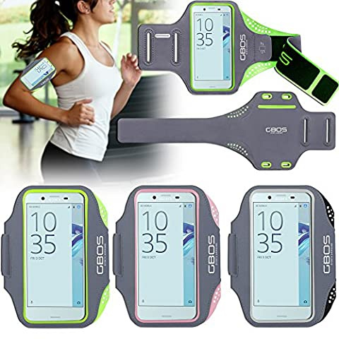 For SONY XPERIA XZ Premium Sports Armband - Sweat-Free,Gym,Running,Jogging,Walking,Hiking,Workout and